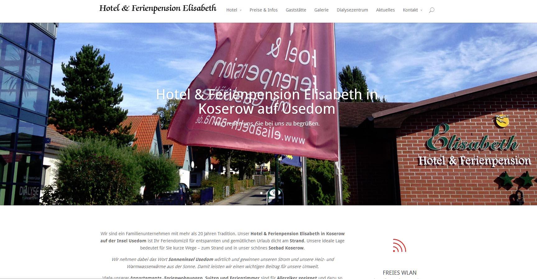 Hotel Ferienpension Elisabeth Koserow Usedom